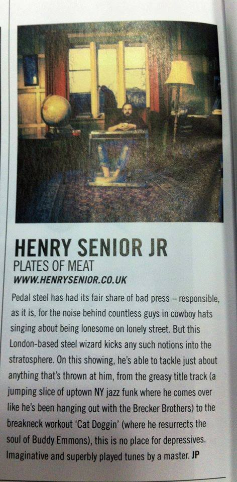 Plates of Meat review in Acoustic Magazine