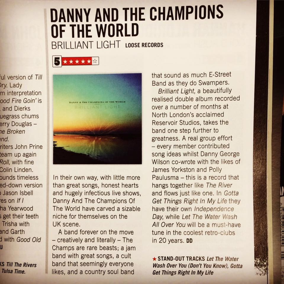 Brilliant Light Review by Country Music People