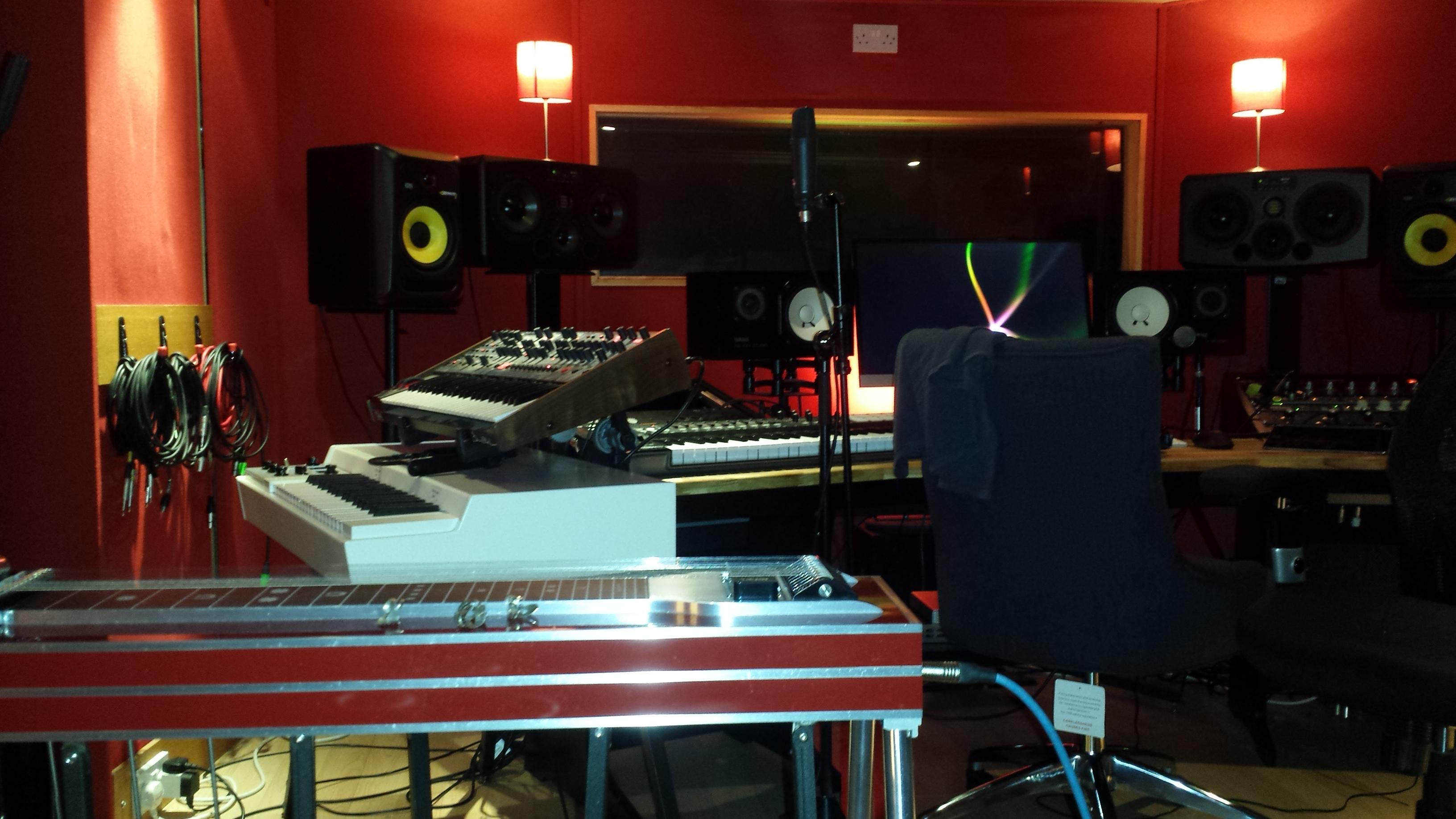 Honey Harper session at Dean St Studios